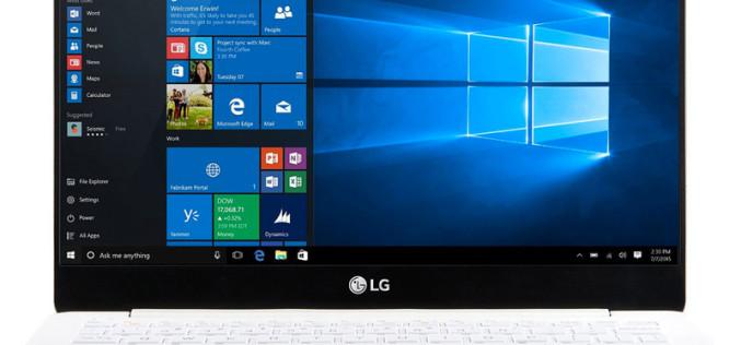LG-ն թողարկել է շատ թեթև Gram նոութբուքները