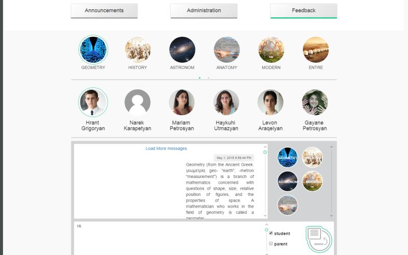 Mobile Classroom. կրթության կառավարման հայկական համակարգ՝ ուսուցիչների, աշակերտների ու ծնողների համար