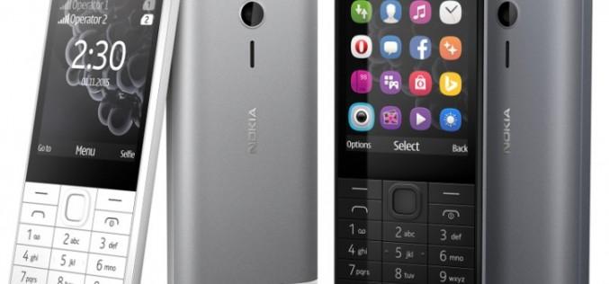 55 դոլարանոց Nokia 230 հեռախոս` 2 ՄՊ դիմային տեսախցիկով