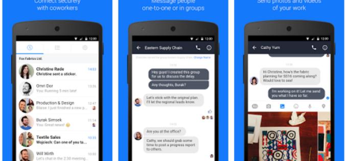 Facebook-ը գործարկել է Work Chat աշխատանքային չաթը