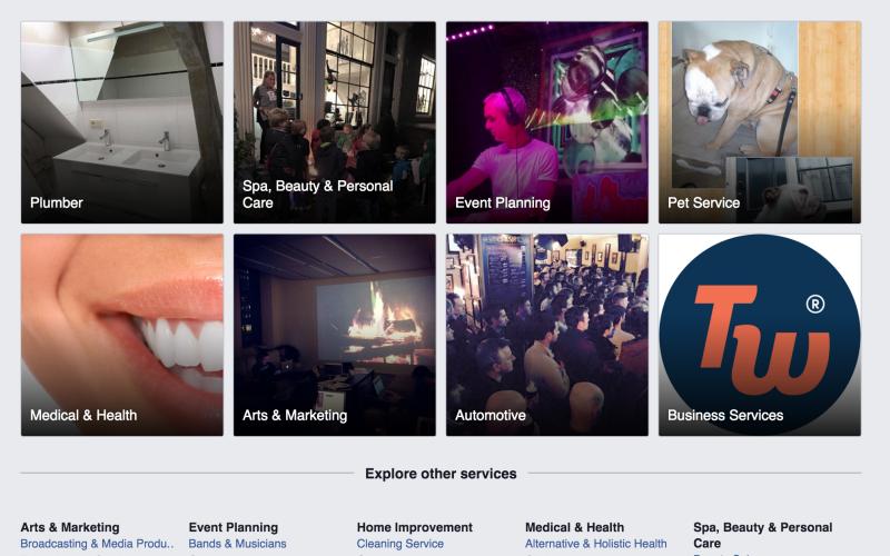 Facebook-ը փորձարկում է Yelp-ին մրցակից ծառայություն