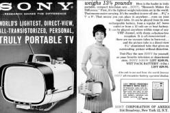 Պատմության մեջ այս օրը` դեկտեմբերի 25-ին, թողարկվեց առաջին շարժական հեռուստացույցը (տեսանյութ)