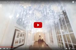 Ինտերակտիվ տեսանյութ, որը թույլ կտա տեսնել Սպիտակ տան ամանորյա զարդարանքը (տեսանյութ)