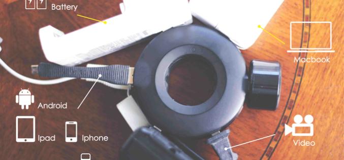 Mogics Power Donut սարքը թույլ կտա լիցքավորել մի քանի սարքեր և տարածք խնայել (տեսանյութ)