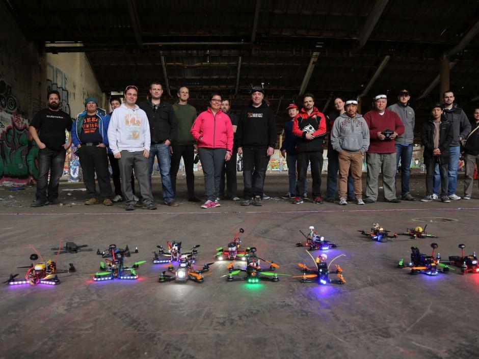 Drone racing 1