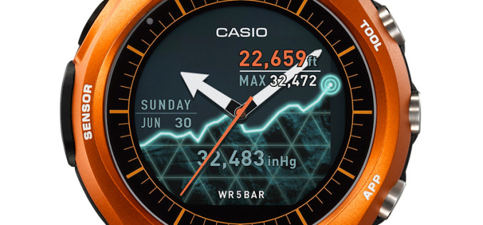 Casio-ի ներկայացրած խելացի ժամացույցի մարտկոցը բավականացնում է 1 ամիս