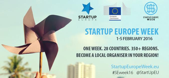 Հայաստանը միացել է Startup Europe Week 2016 նախաձեռնությանը