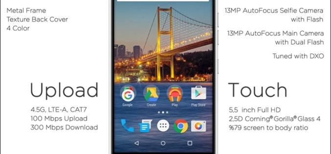 MWC 2016. General Mobile GM5 Plus սմարթֆոն՝ Android One ծրագրի շրջանակներում