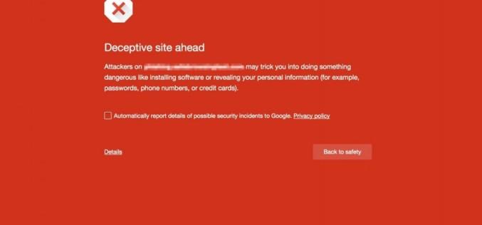 Google-ի անվտանգ դիտումների ծառայությունը կպաշտպանի անցանկալի ներբեռնումներից