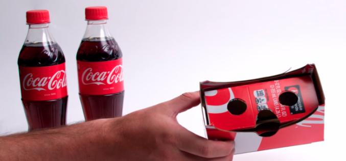 Coca-Cola-ի նոր փաթեթավորումը վերածվում է VR-ակնոցի