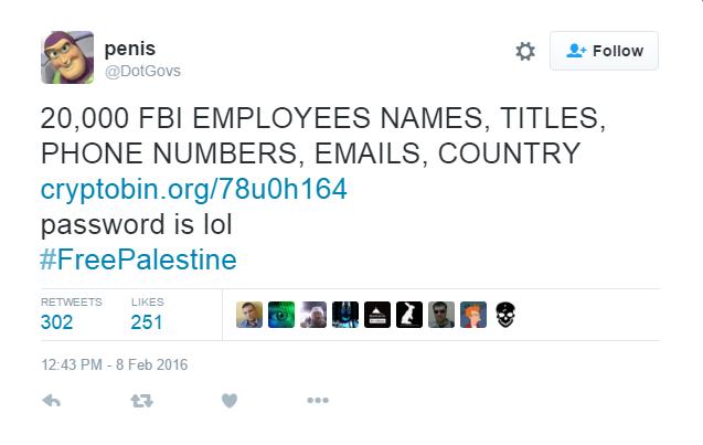 FBI was hacked