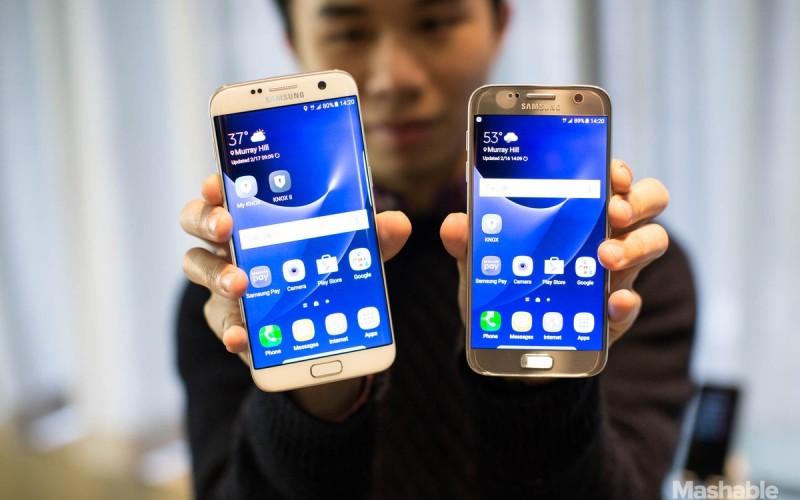 Պաշտոնապես ներկայացվել են Samsung Galaxy S7 և S7 Edge մոդելները