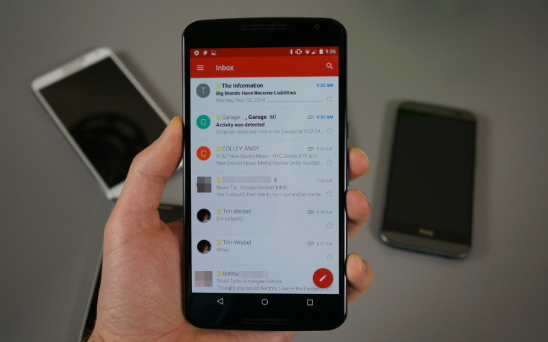 Gmail-ը դարձել է Google-ի յոթերորդ ծառայությունը, որի օգտատերերի քանակը հասել է միլիարդի