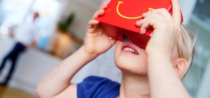 Շվեդիայում McDonald's-ի Happy Meals-ը կվերածվի VR-ակնոցի
