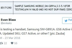 Հաստատվել է Samsung Galaxy S7 Active սմարթֆոնի գոյությունը