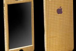 Goldgenie-ն պատել է iPhone SE սմարթֆոնը 18 կարատ ոսկով