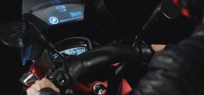 Samsung-ը ներկայացրել է Smart Windshield սարքն՝ ինֆորմացիայից կախվածություն ունեցող մոտոցիկլիստների համար