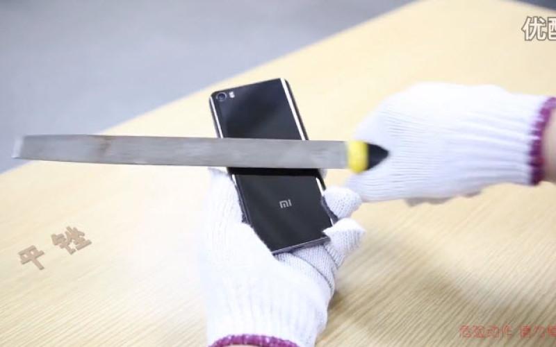 Կերամիկական կաղապարով Xiaomi Mi 5 Pro-ն դիմակայել է մի շարք փորձությունների