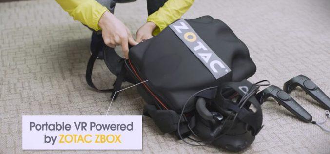 Zotac-ն առաջարկում է ուսապարկում տեղադրվող մինի VR-համակարգիչ