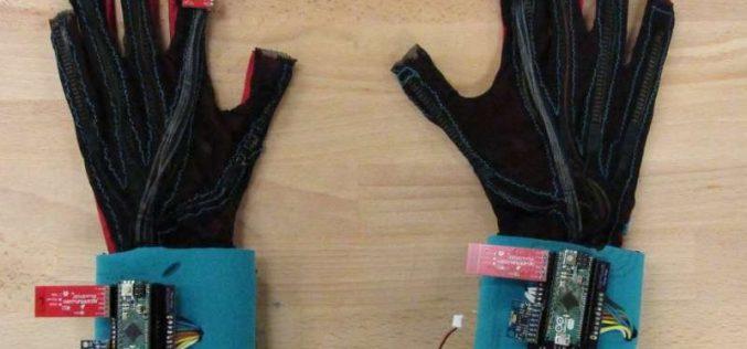 Այս ձեռնոցները ժեստերի լեզուն վերափոխում են խոսքի