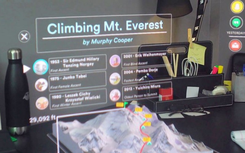 Magic Leap ընկերությունը ներկայացրել է լրացվող իրականության նոր սարք