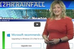 Windows-ի թարմացումը «փչացրել» է ուղիղ եթերով հաղորդվող եղանակի տեսությունը (տեսանյութ)