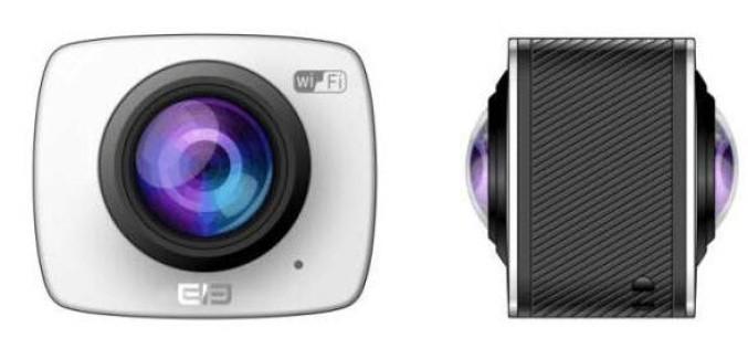 Elephone EleCamera 360 տեսախցիկը նախատեսված է VR-տեսահոլովակներ նկարահանելու համար