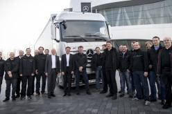 Mercedes-Benz մակնիշի ինքնակառավարվող բեռնատարները կատարում են առաջին շարասյունային ճամփորդությունը
