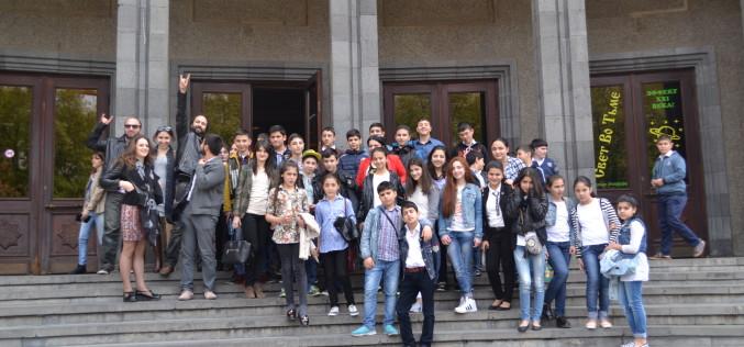 Աշտարակի թիվ 1 դպրոցի սաներն այցելեցին Dinamica Testing Centre, ԵՊՃՀ լաբորատորիա և կինոթատրոն