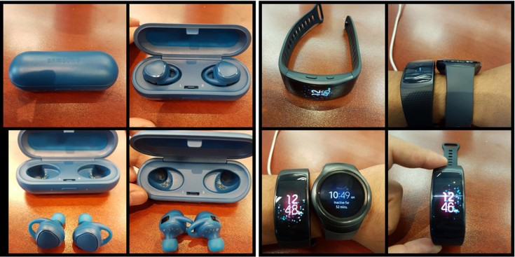 Samsung Gear Fit 2 & Gear IconX 2