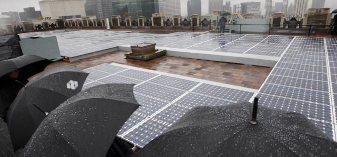Արևային մարտկոցները կարող են էներգիա ստանալ նաև անձրևի կաթիլներից