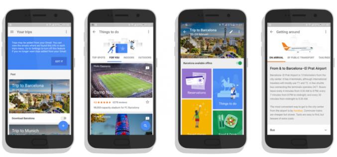 Google-ն աշխատում է զբոսաշրջային նոր հավելվածի վրա
