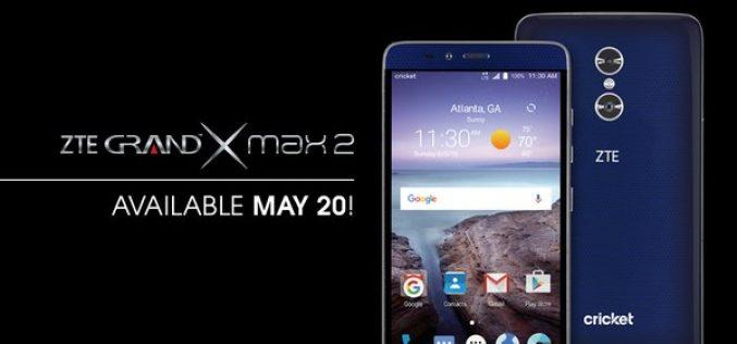 Վեց դյույմանոց ZTE Grand X Max 2 սմարթֆոնն արժե 200 դոլար