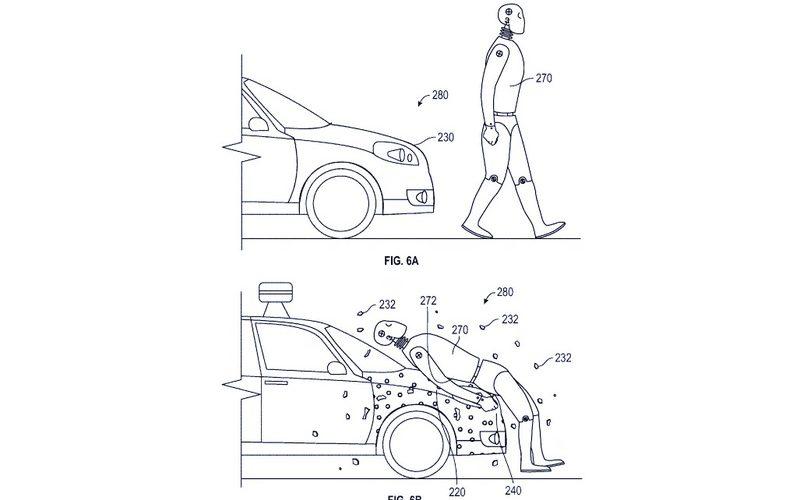 Ինքնակառավարվող ավտոմեքենաները կկարողանան «սոսնձել» հետիոտնին մեքենայի վրա