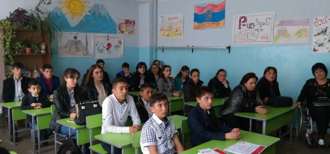 Շիրակի մարզի հաշմանդամություն ունեցող և սոցիալապես անապահով ընտանիքների 90 երեխաներ և երիտասարդներ ստացան տեխնոլոգիական կրթություն