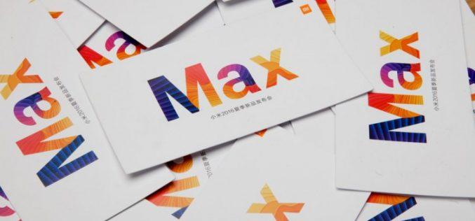 Xiaomi-ին ներկայացրել է իր նոր Mi Max ֆաբլեթը  և MIUI 8 ՕՀ-ը