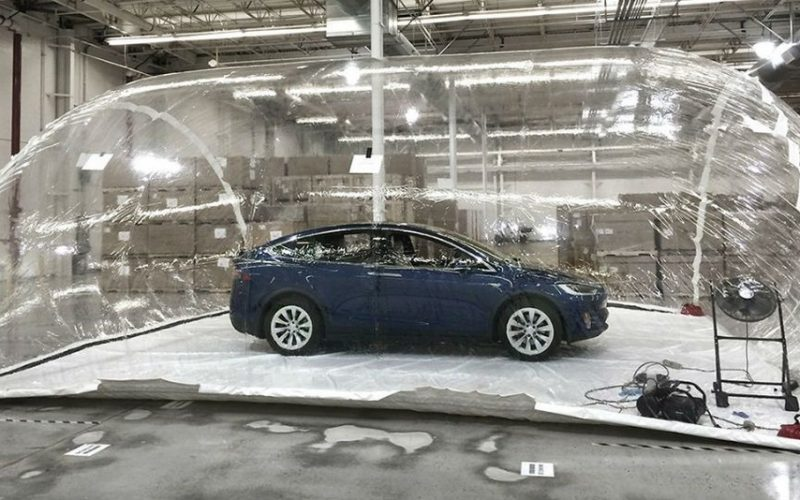 Tesla-ն փորձարկել է Model X-ի բիոզենքից պաշտպանվածության համակարգը