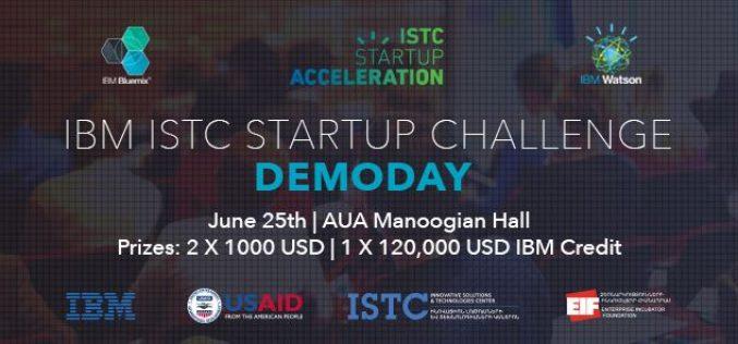IBM ISTC Startup Challenge-ի հաղթողները պարզ կդառնան հունիսի 25-ին