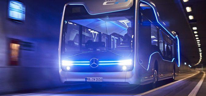 Mercedes-Benz «խելացի» ավտոբուսը 20կմ է անցել առանց վարորդի