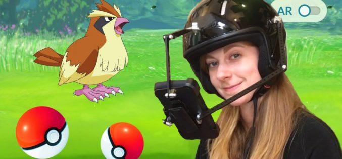 Pokemon Go սաղավարտը կպաշտպանի գլուխը պոկեմոններ բռնելիս