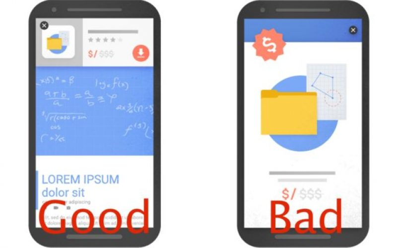 Google-ը կպայքարի pop-up գովազդներ պարունակող կայքերի դեմ
