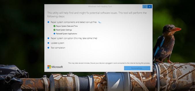 Microsoft-ը թողարկում է Windows Self-Healing «բուժիչ» գործիքը