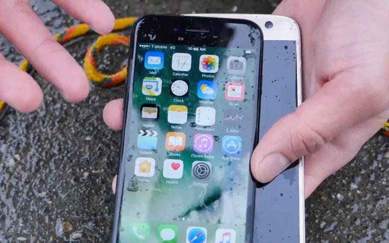 iPhone 7 VS. Galaxy S7. ո՞րն ավելի երկար կմնա ջրի տակ