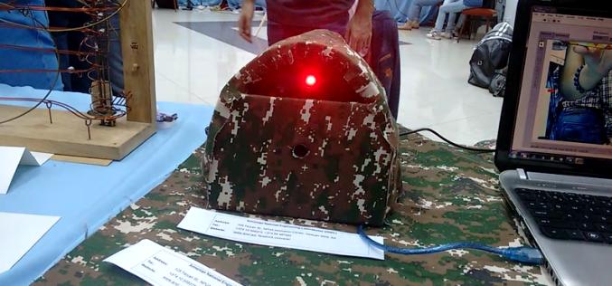 Դիջիթեք էքսպո 2016. ռոբոտ-սահմանապահ