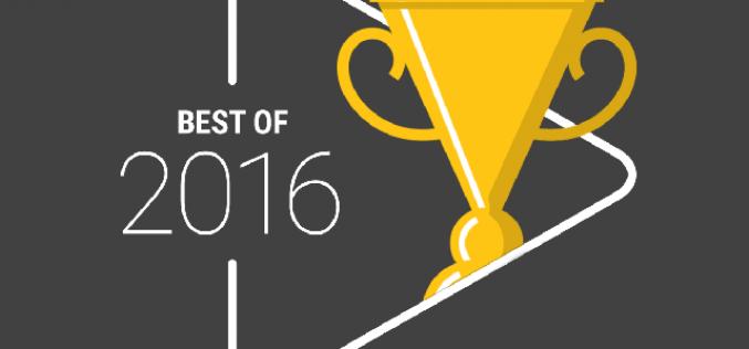 Google-ը հրապարակել է 2016թ.-ի լավագույն հավելվածներն ու խաղերը