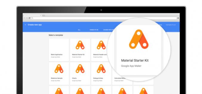 Հավելվածներ պատրաստելու նոր գործիք Google-ից