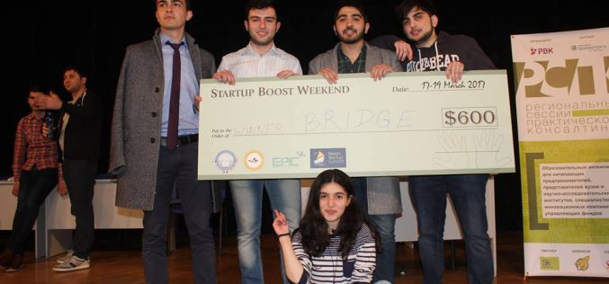 Հայտնի են Startup Boost Weekend-ի հաղթողները