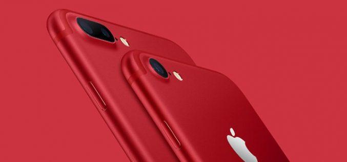 Apple-ը ներկայացրել է կարմիր iPhone 7, նոր iPad և նոր հավելված