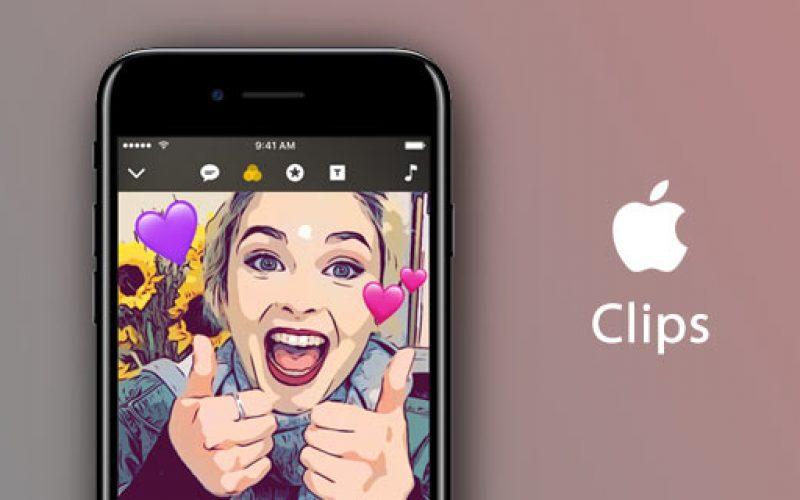 Apple-ի նոր Clips հավելվածն արդեն հասանելի է App Store-ում