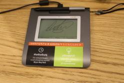 Ucom-ի սպասարկման կենտրոններում տեղադրվել են էլեկտրոնային գրիչներ
